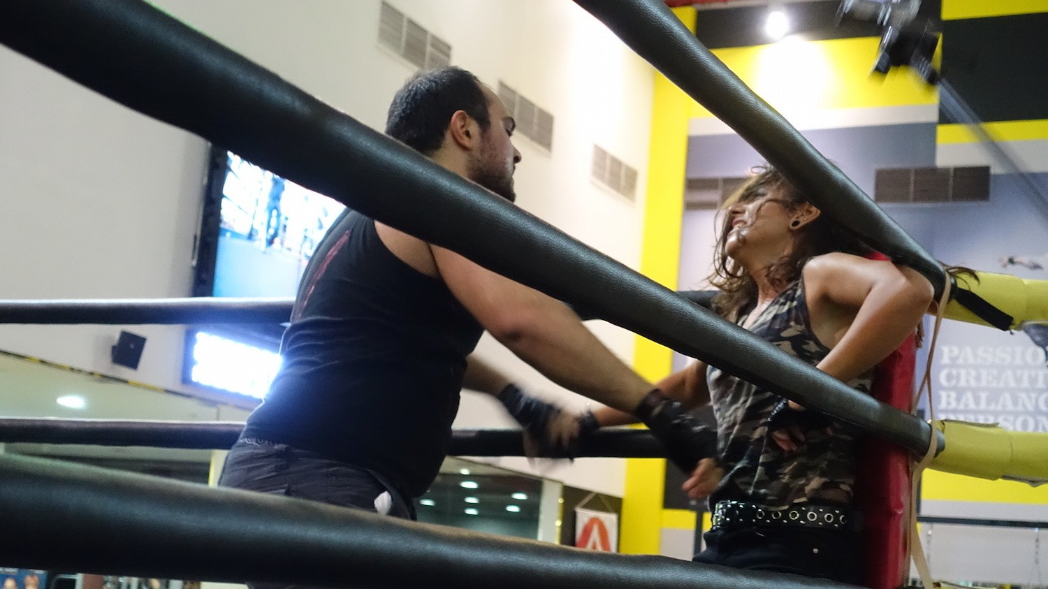 The Middle East's First Woman Pro Wrestler Suplexes The Patriarchy