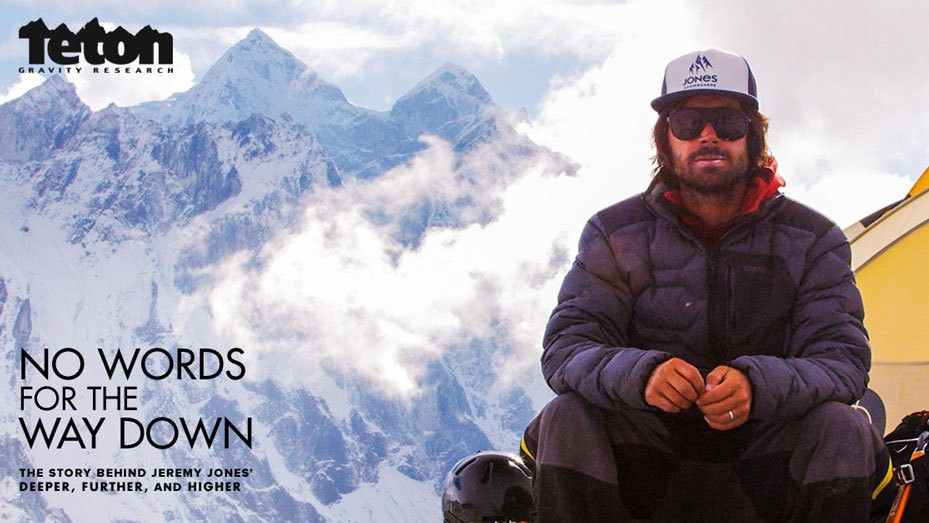 Snowboarding Pioneer Jeremy Jones's Latest Frontier: Writing a Book