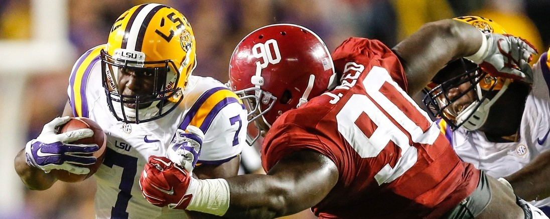 Alabama-LSU, And The Delights Of Anti-Modern Football