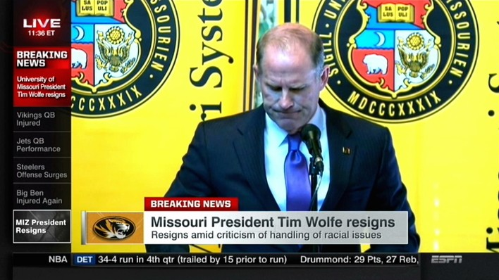 Mizzou President's Resignation Shows That College Athletes Have Strength in Numbers