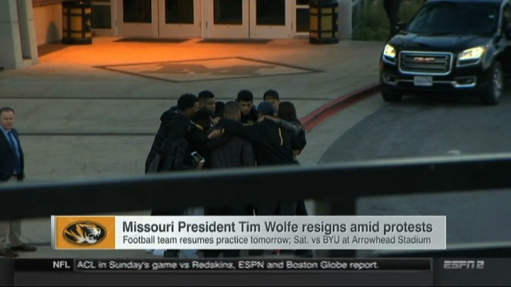 University of Missouri Football Players Broke the Power Structure