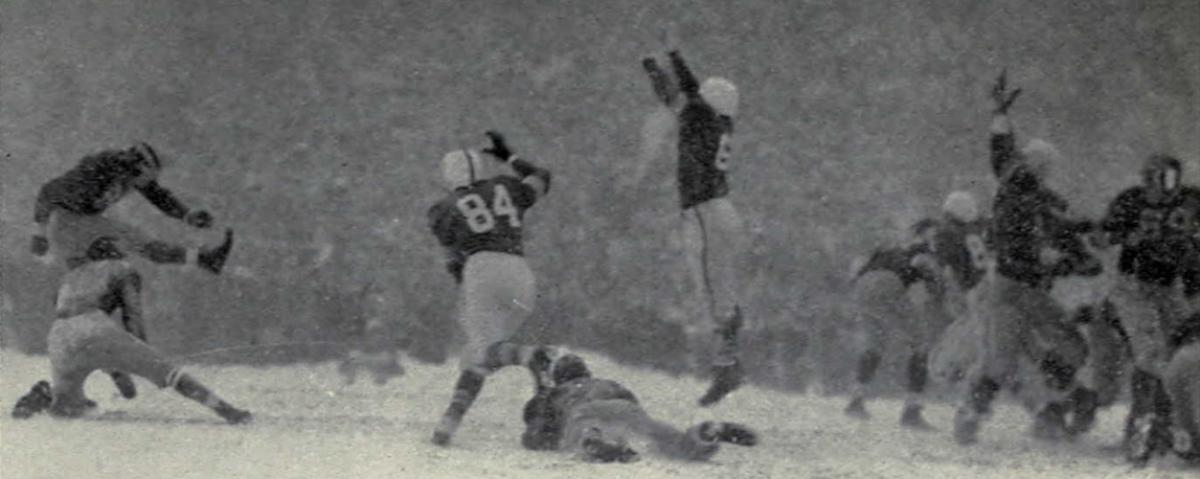 The Coldest College Football Game Ever