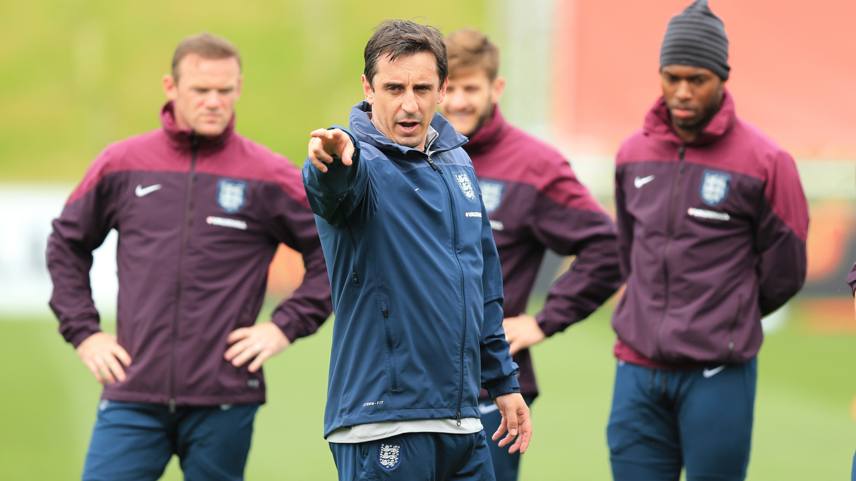Can Neville Stake His Claim as Van Gaal's Successor?
