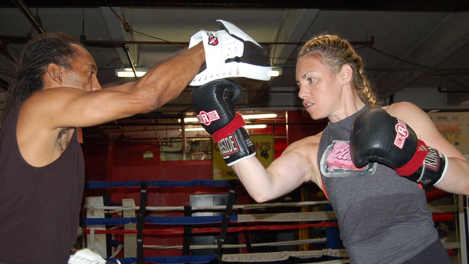 Heather Hardy Doesn't Back Down from Any Fight