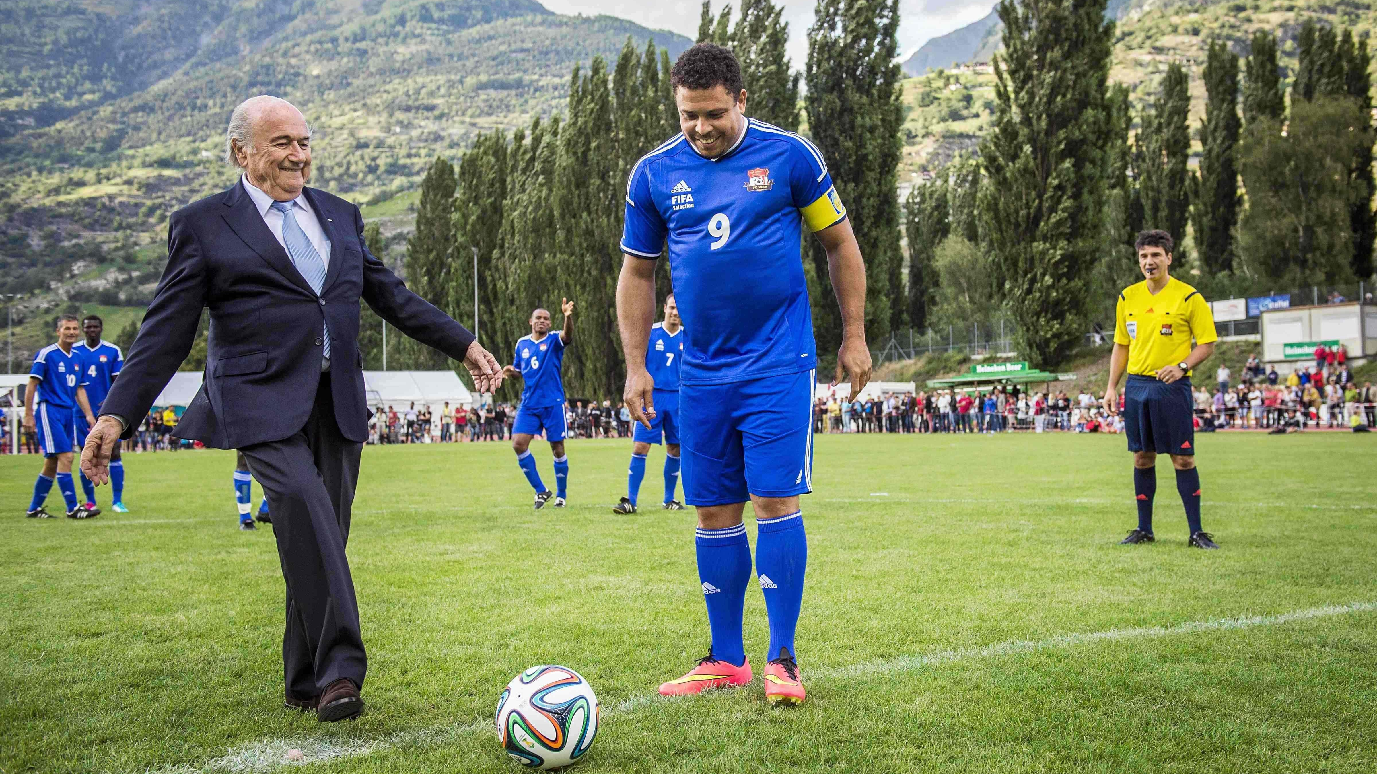 Welcome to Visp, Sepp Blatter's Mountain Haven