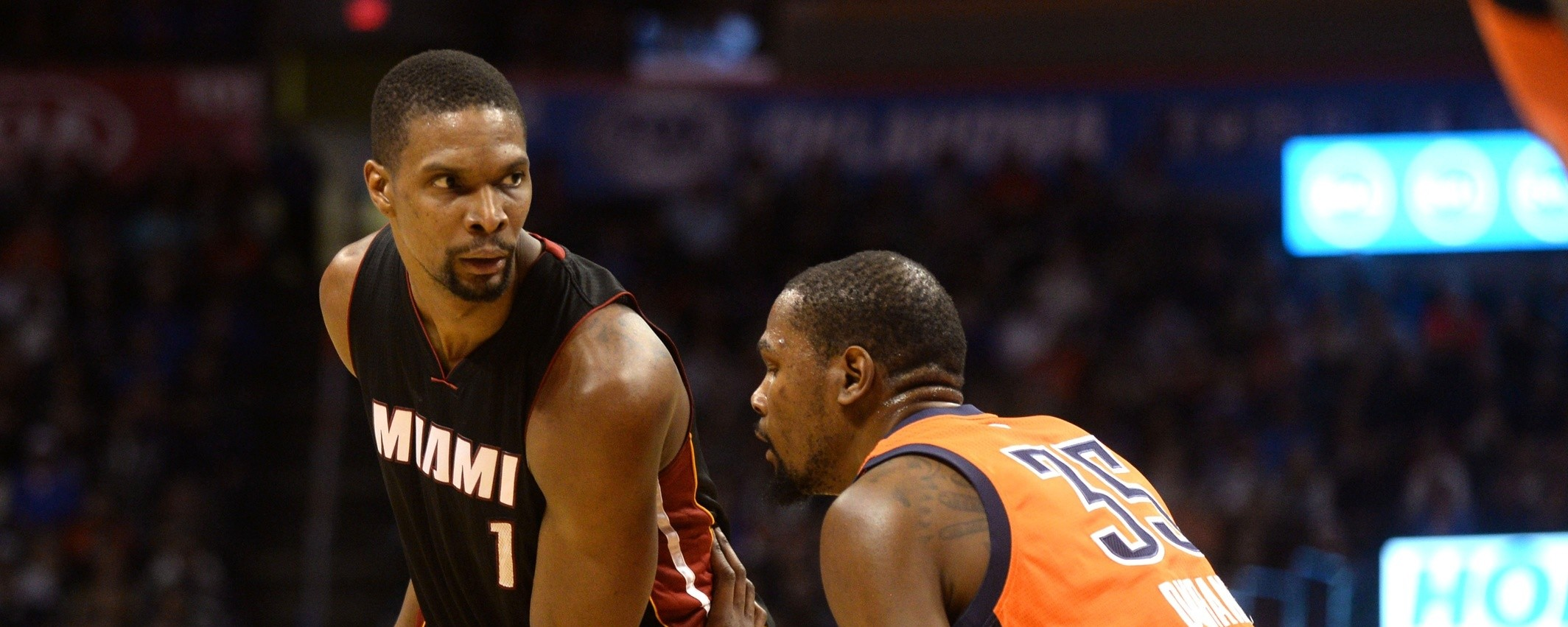 A Year After Nearly Losing It All, Chris Bosh Is All the Way Back