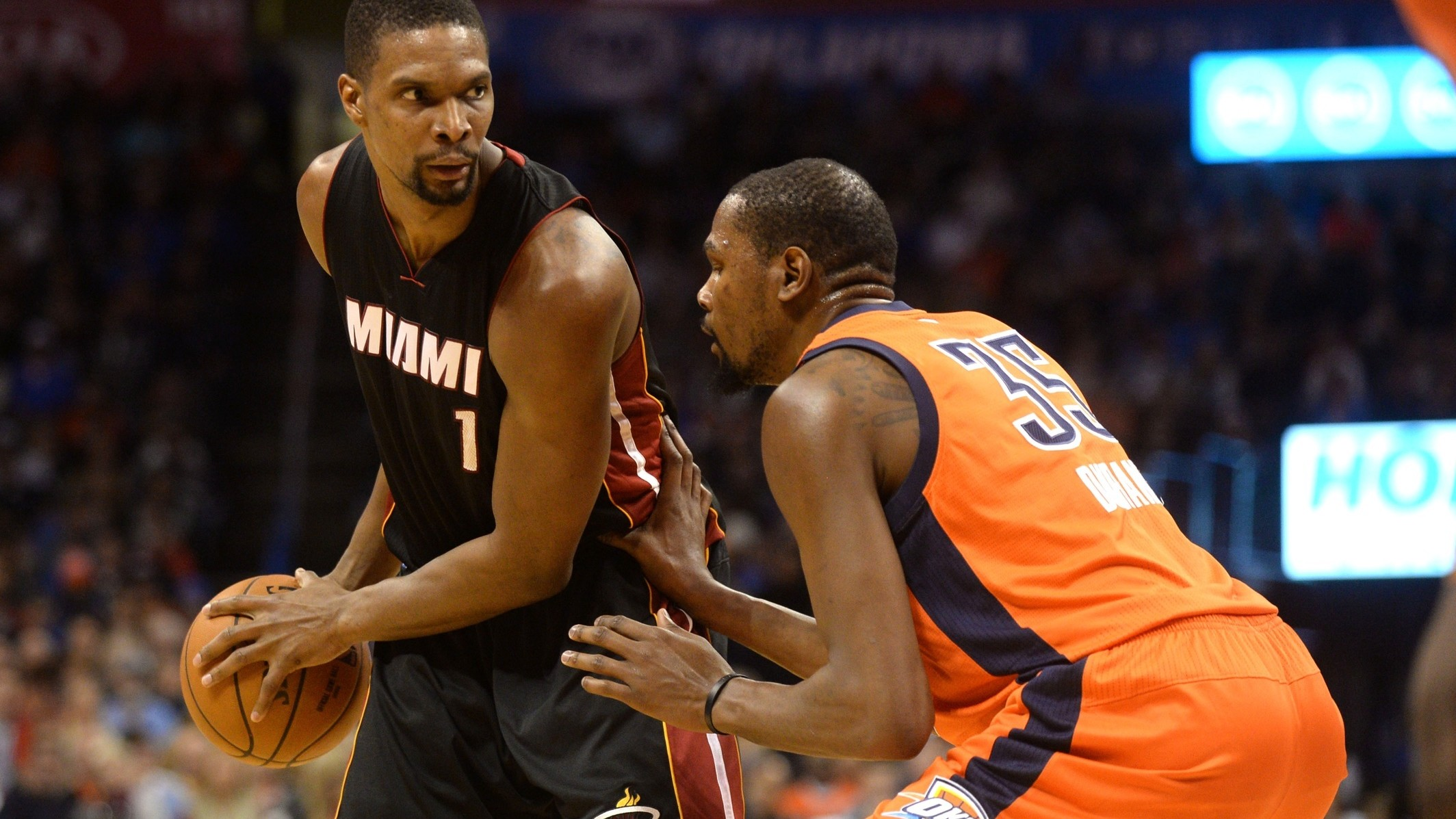 A Year After Nearly Losing It All Chris Bosh Is All the Way Back