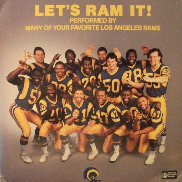 """Revisiting """"Let's Ram It,"""" The L.A. Rams' Ode to… Ramming ..."""