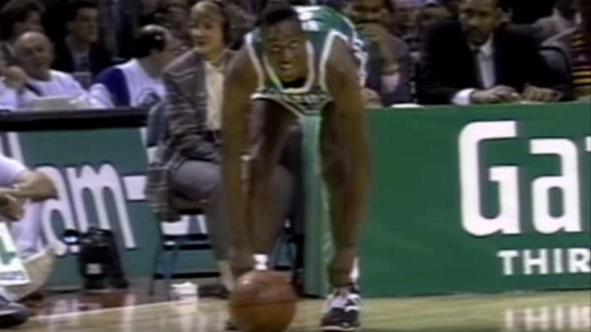 e0e4e7a34881d7 NBA All-Star Throwback  Dee Brown Pumps Up The Slam Dunk Contest ...