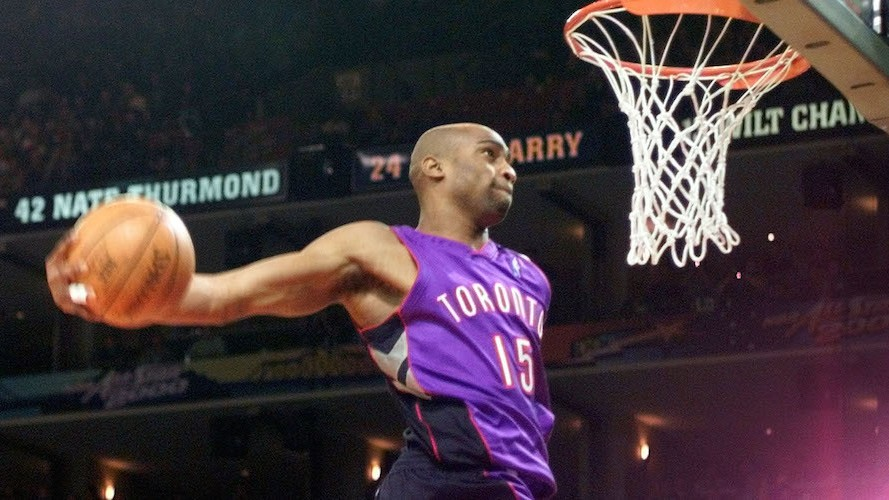 Vince Carter and the Dunk Contest That Put Toronto on the Map