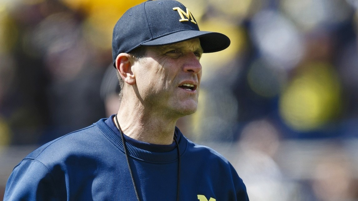 Jim Harbaugh Is Annexing Spring Break, And The NCAA Is Pretending To Be Upset About It