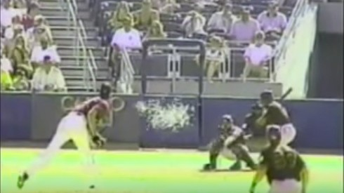 Throwback Thursday: Randy Johnson Immolates A Bird With a Spring Training Pitch
