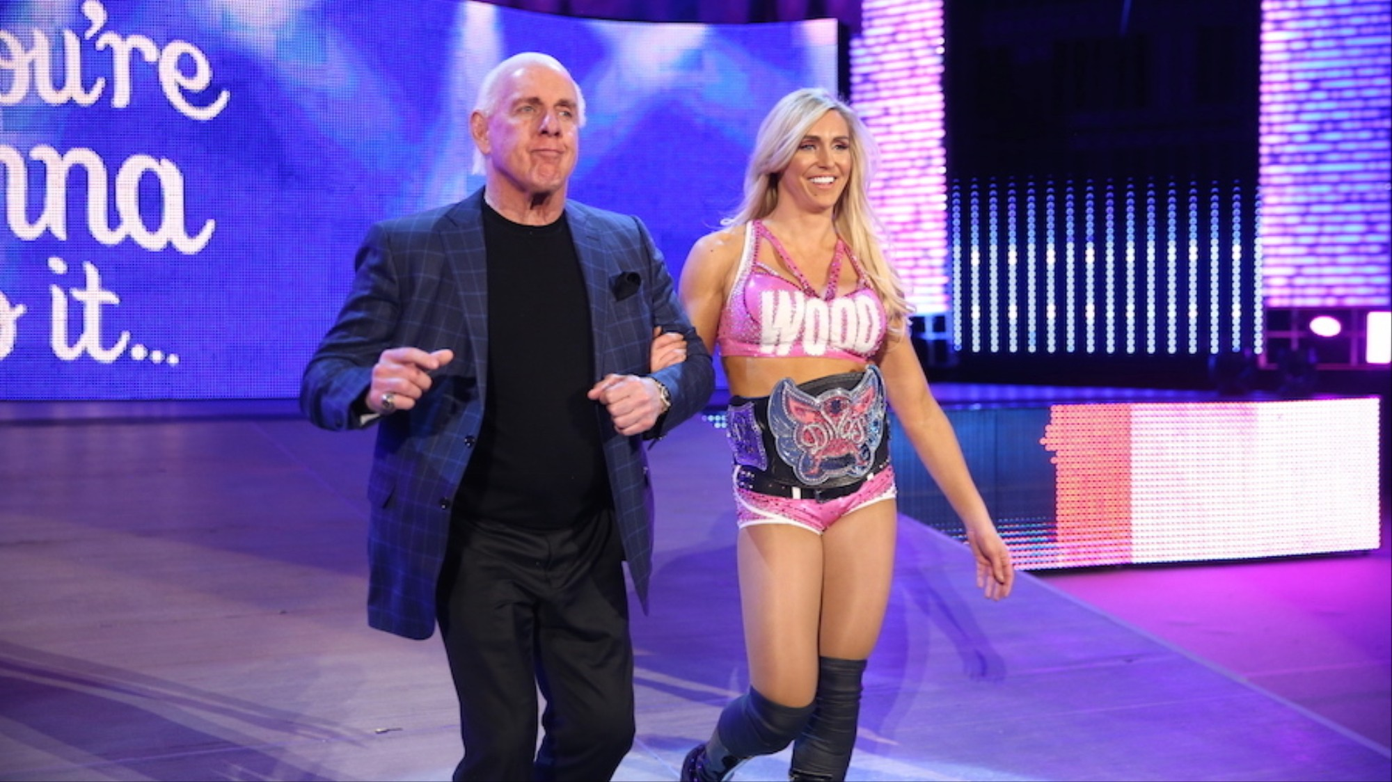 Vice Sports Q A Wwe Divas Champ Charlotte Flair On