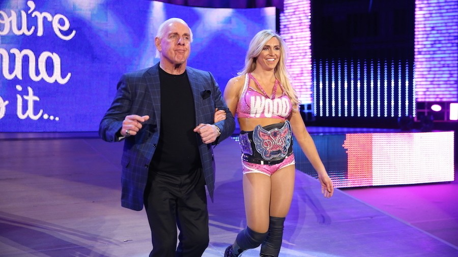 VICE Sports Q&A: WWE Divas Champ Charlotte Flair on Wrestlemania and Father Ric
