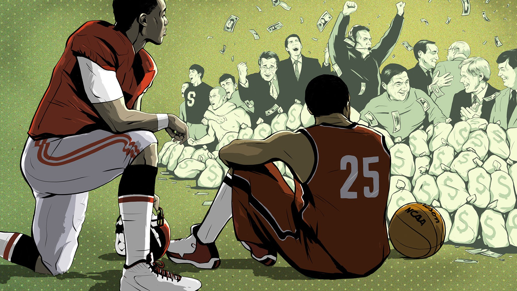 Four Years A Student-Athlete: The Racial Injustice of Big-Time College Sports