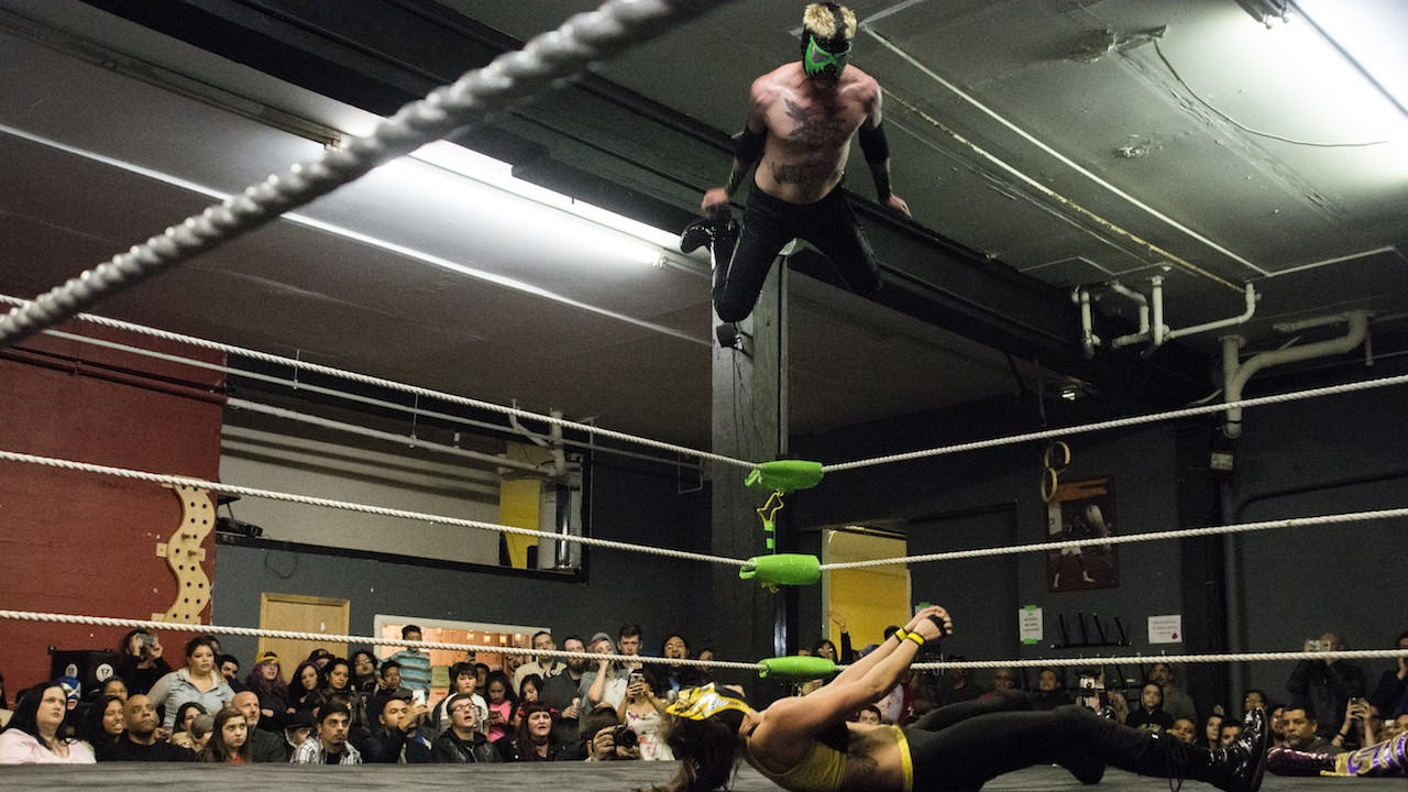Seattle's Lucha Libre Wrestlers are Fighting for their Sport in the State Legislature