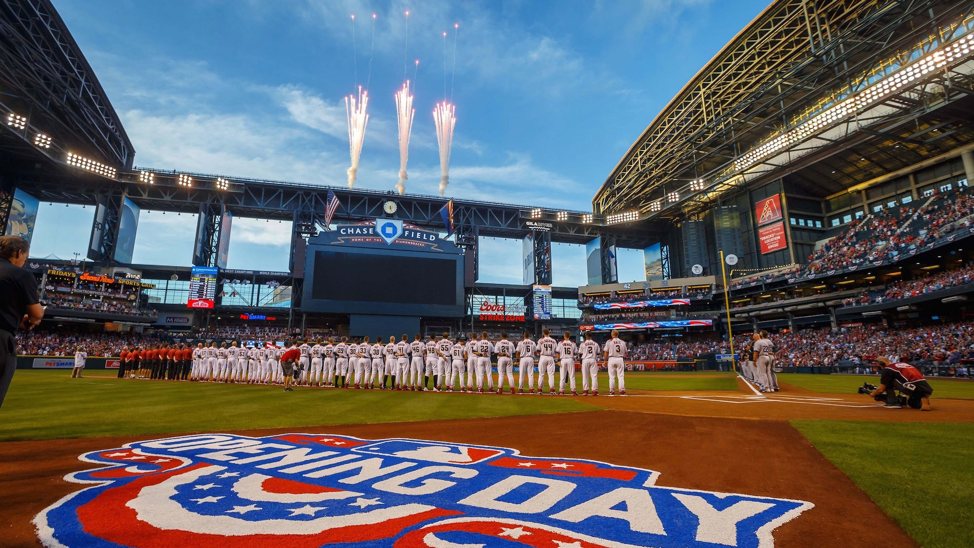 when every other team seems to have a newer shinier stadium owners whosebuildings are barely of legal age may cry state of the art as thearizona . the diamondbacks want out of chase field and every other team