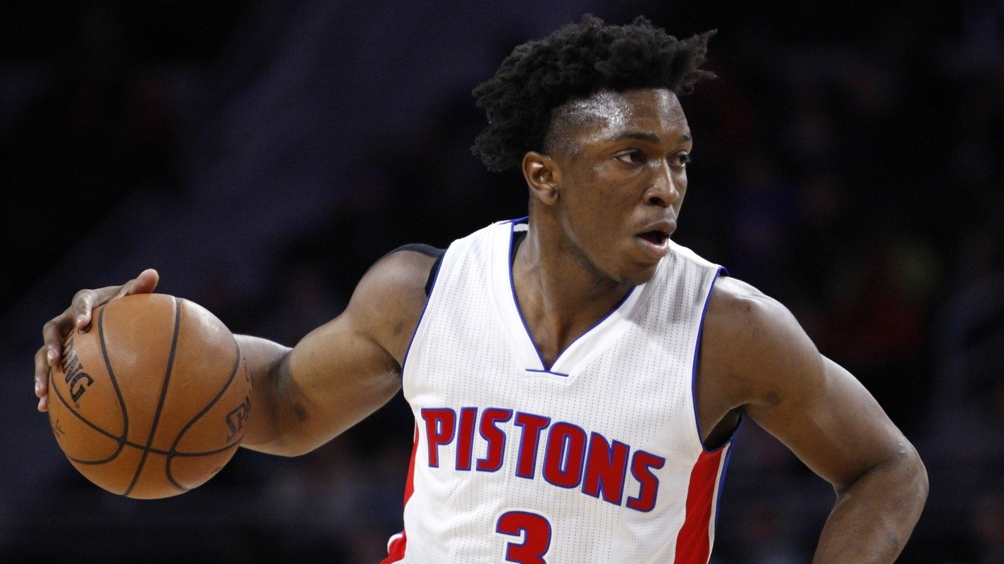 In A Year Of Great NBA Rookies, Stanley Johnson Is Getting The Business