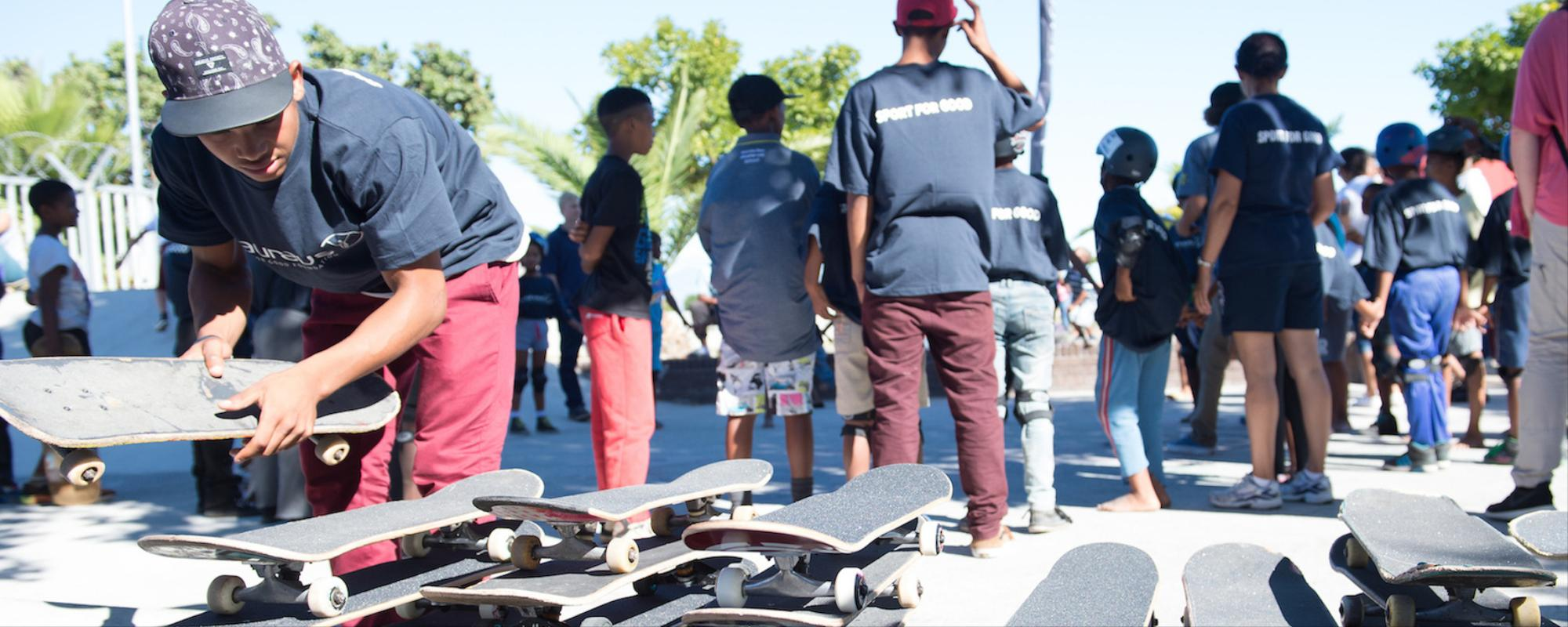 Welcome to the Skate Park in the Middle of a South African Township
