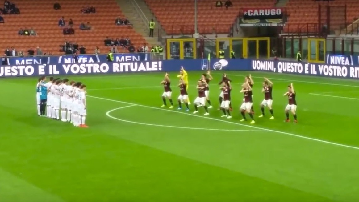 """An Insult to Our Country"": AC Milan and Nivea Mock the Haka"