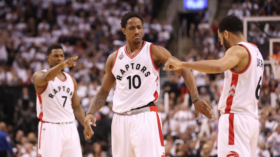 DeRozan and Lowry Finally Do the Heavy Lifting Together