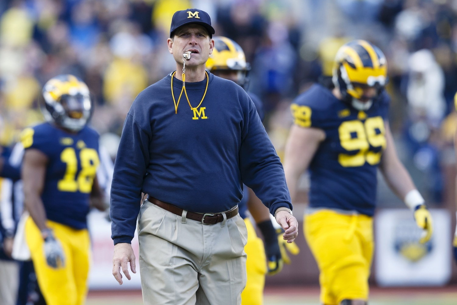 Jim Harbaugh S One Day Australian Camp Shows The Ncaa Can Afford