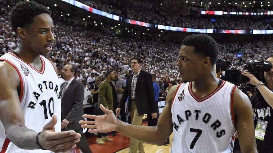 DeRozan-Lowry Tandem Carrying Raptors and Causing Fits for Cavaliers