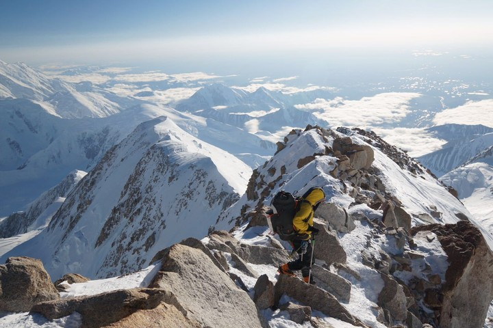 Meet the Triathlete Who Broke Two Mountaineering World Records and Snapchatted Everest