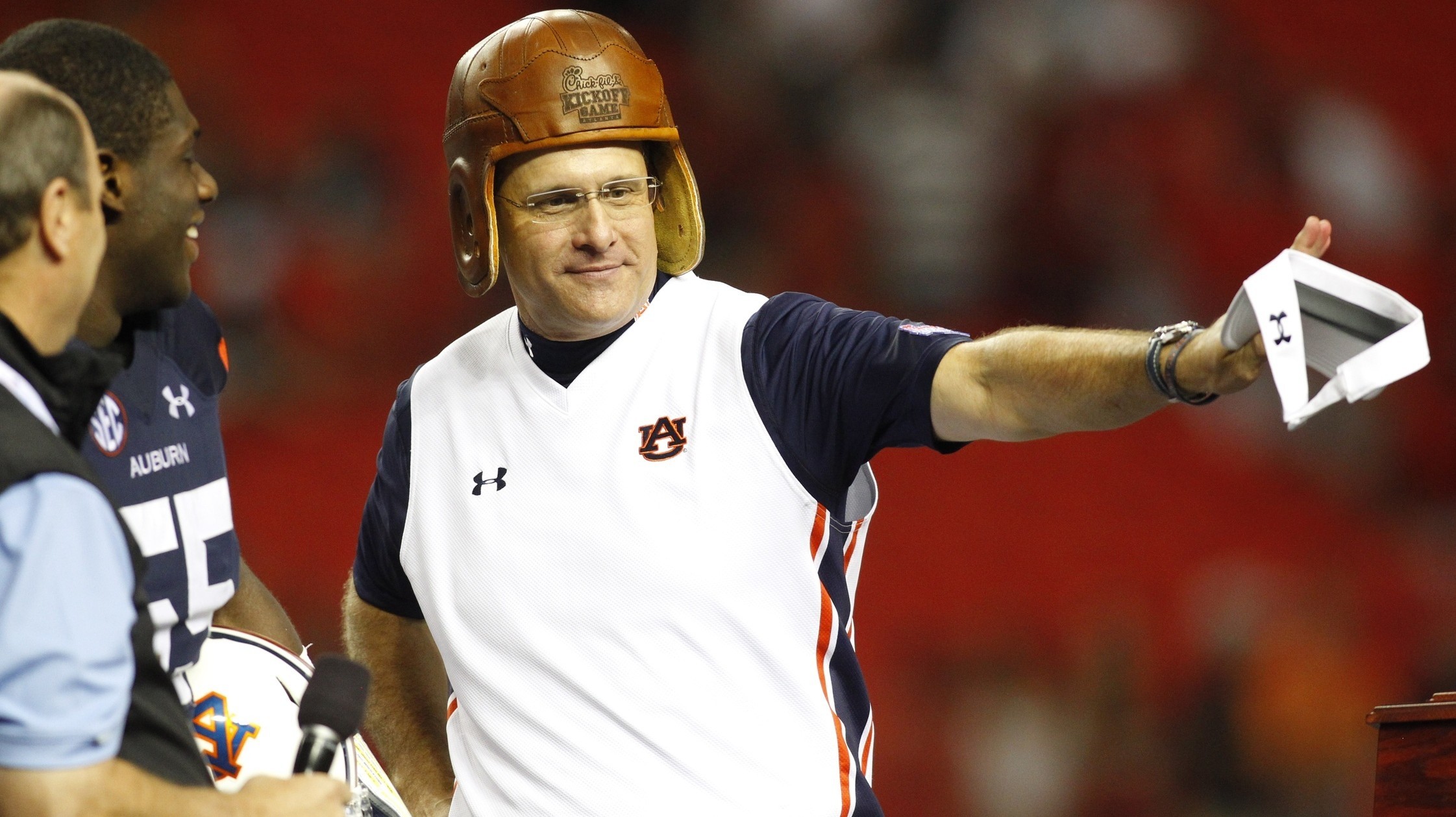 Gus Malzahn's Auburn Extension Shows That College Football Is Rich, And Crazy