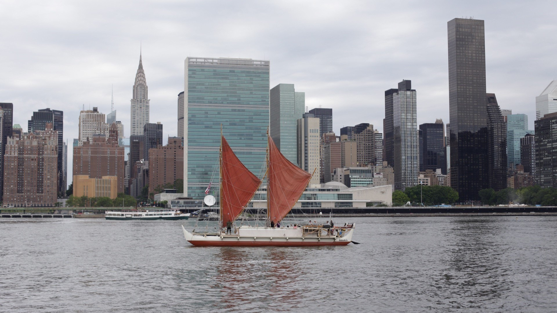 """""""Like Surfing, But on a Much Bigger Scale"""": How the Hokule'a Sails Around the World"""