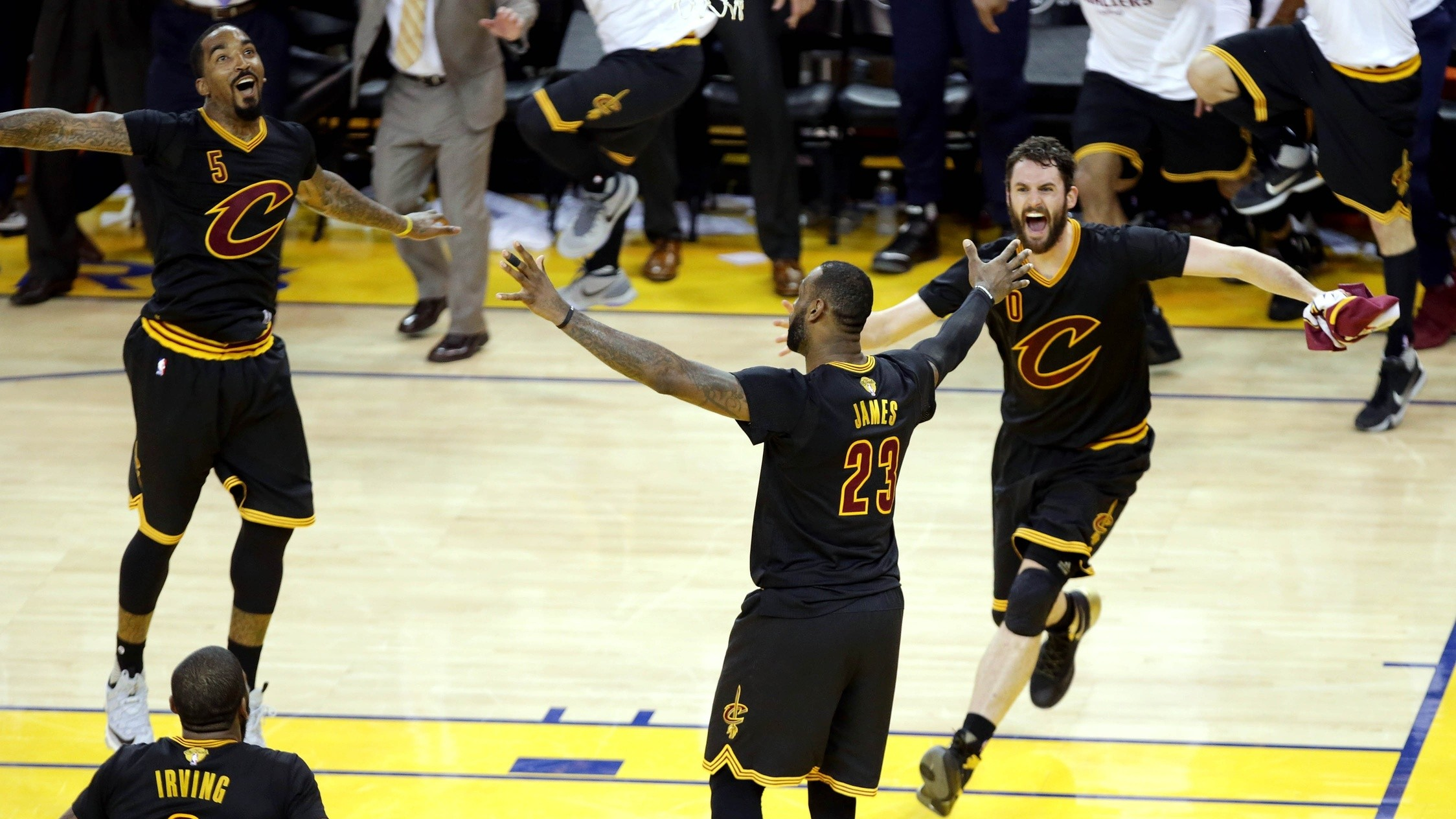 Which Cleveland Cavalier Celebrated the Hardest? (Besides J.R. Smith): COOKIES 028 with Nick Catchdubs and Andrew Kuo