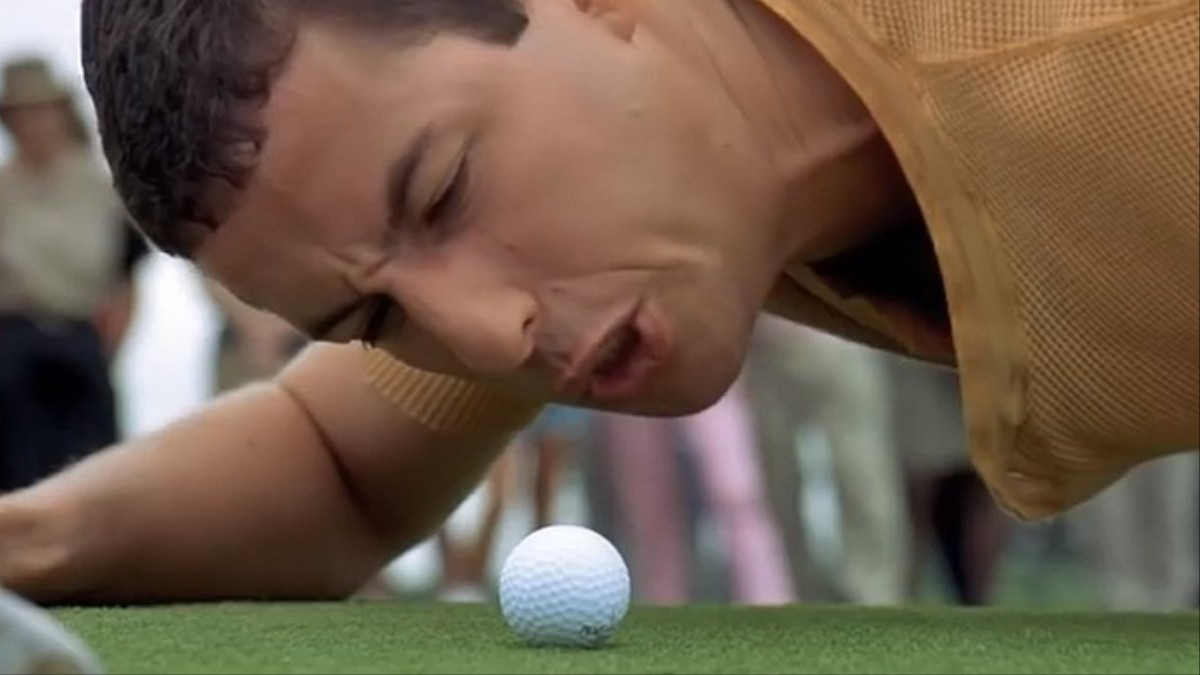 twenty years later happy gilmore is still shooting right around