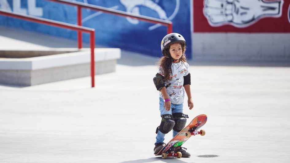 Meet the Three-Year-Old Skater Sponsors Are Already Sending Gear