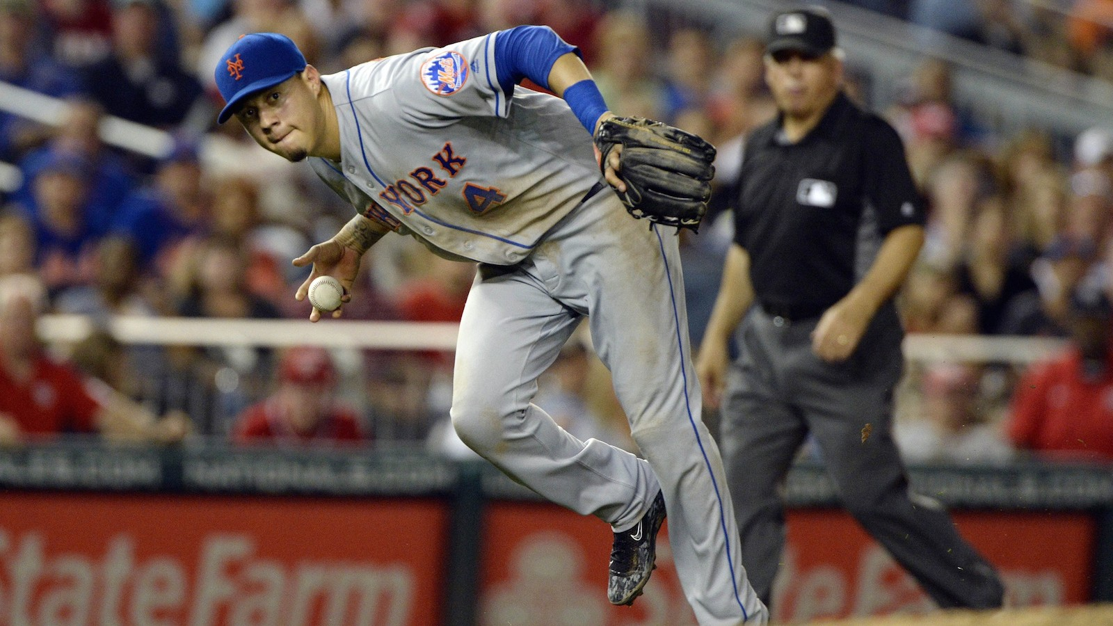 Once Without a Position, Wilmer Flores Now Plays Them All