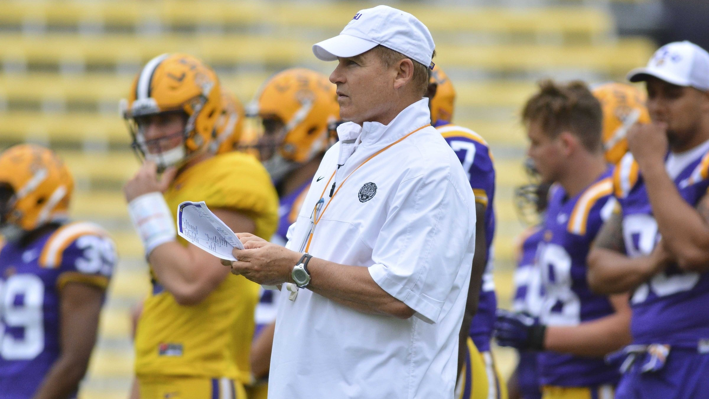 For LSU and Les Miles, It's Beat Alabama or Bust