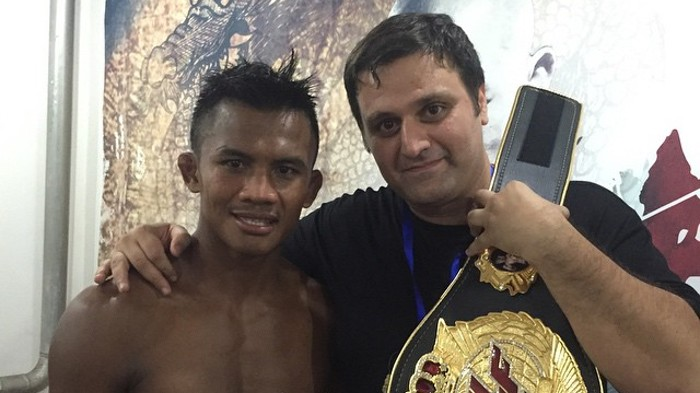 Buakaw's Iranian Manager Is Making Waves in Bangkok