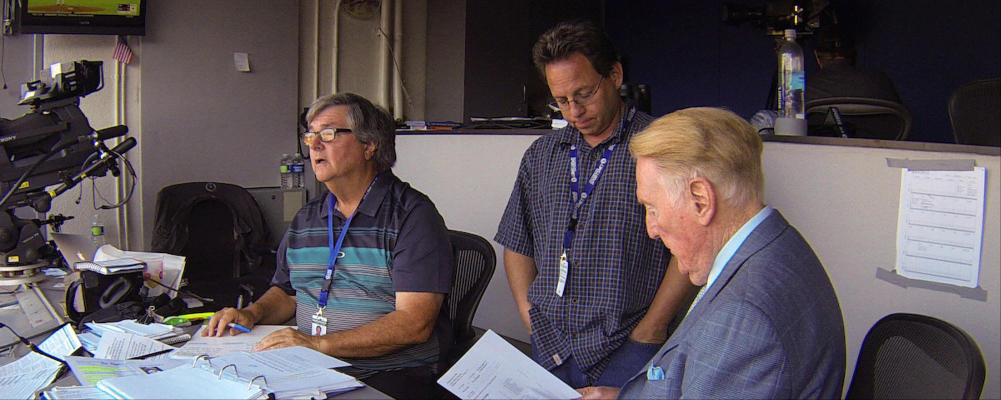 With a Little Help from His Friends: The Story Behind Baseball Announcer Vin Scully's Stories