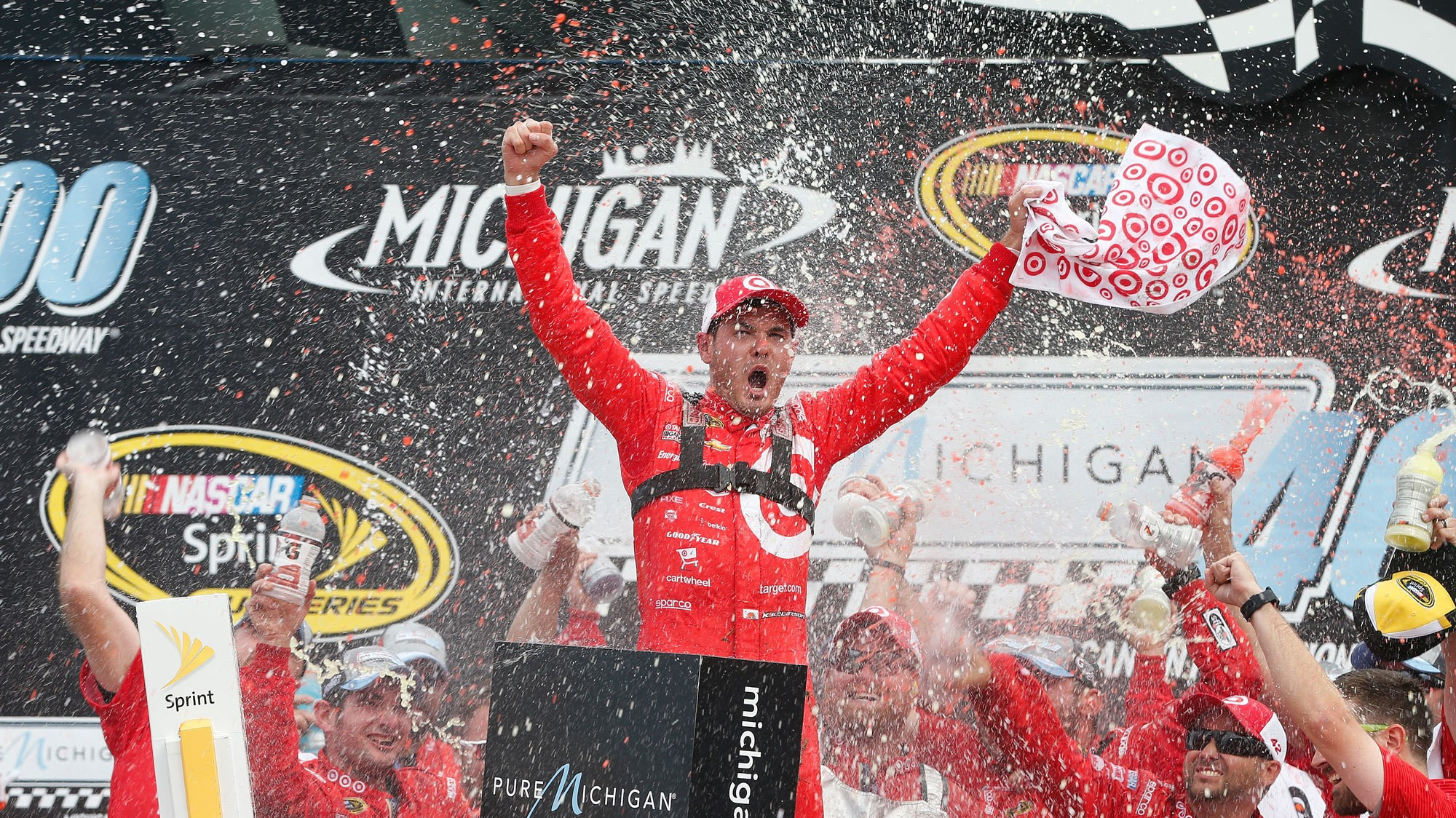 Kyle Larson Becomes First NASCAR Diversity Grad to Win Sprint Cup Series