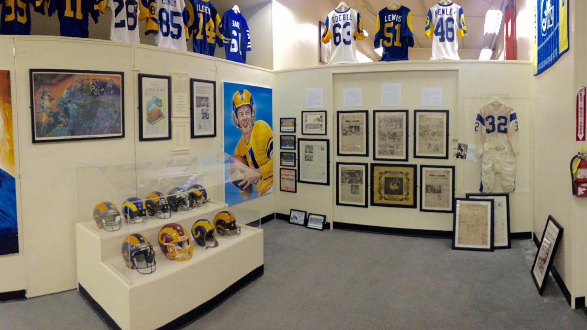 The Worlds Largest Private Sports Memorabilia Collection Is