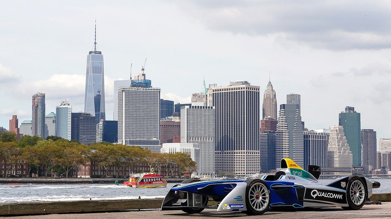 Formula E Unveils Track for First Race in New York City