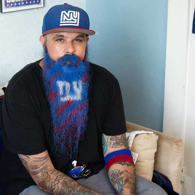 New York Giants Mr Beardo Vice