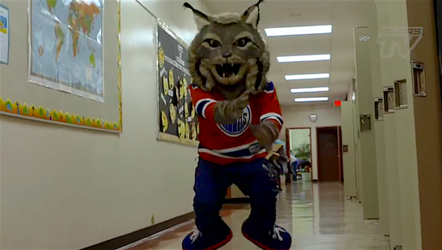 The Oilers' Scary Mascot, And How The NHL Messed Up Again