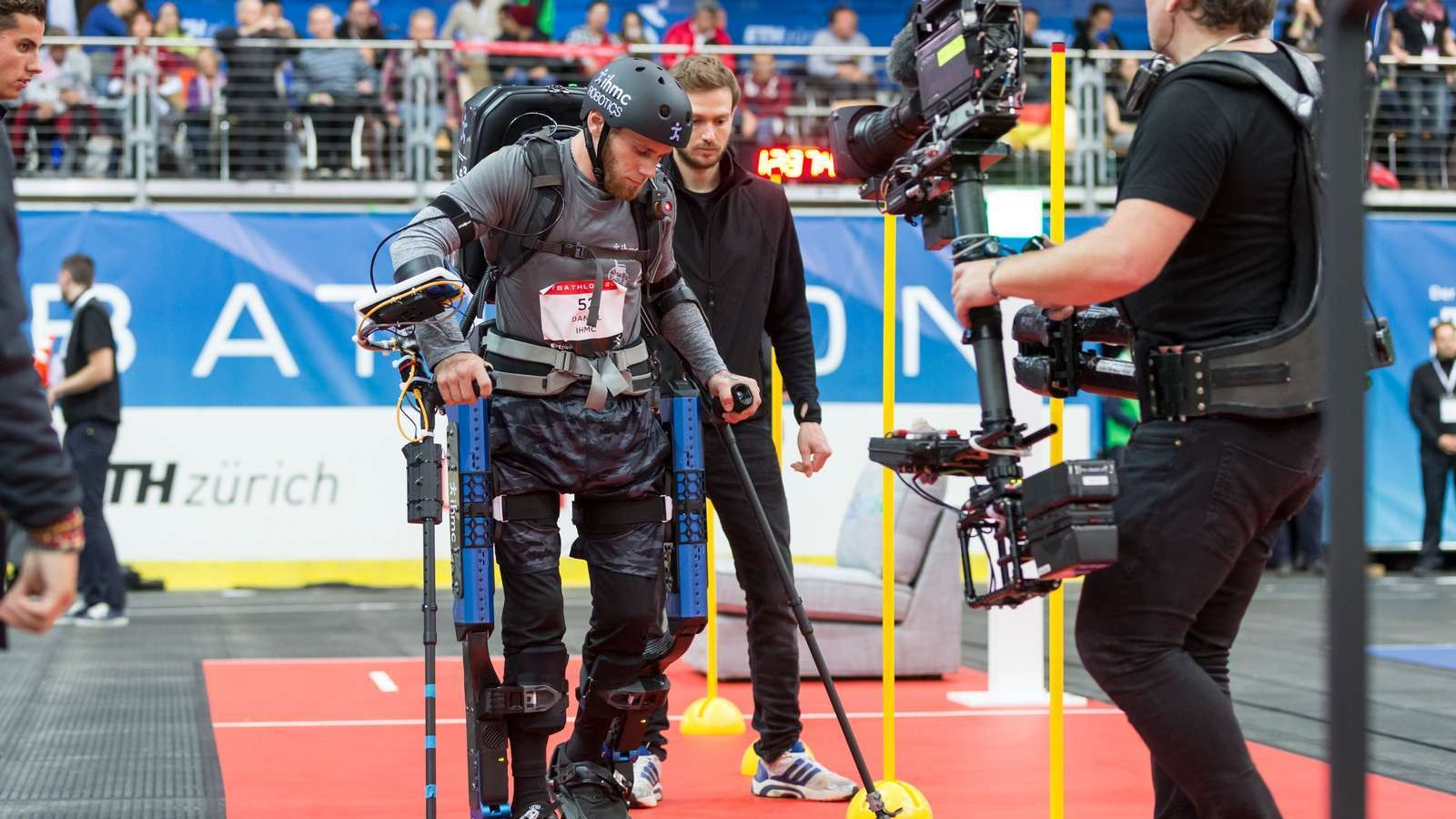 The Cybathlon: Where Paraplegics Walk Again