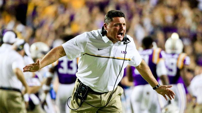 Ed Orgeron's Road to the LSU Job Begins Now