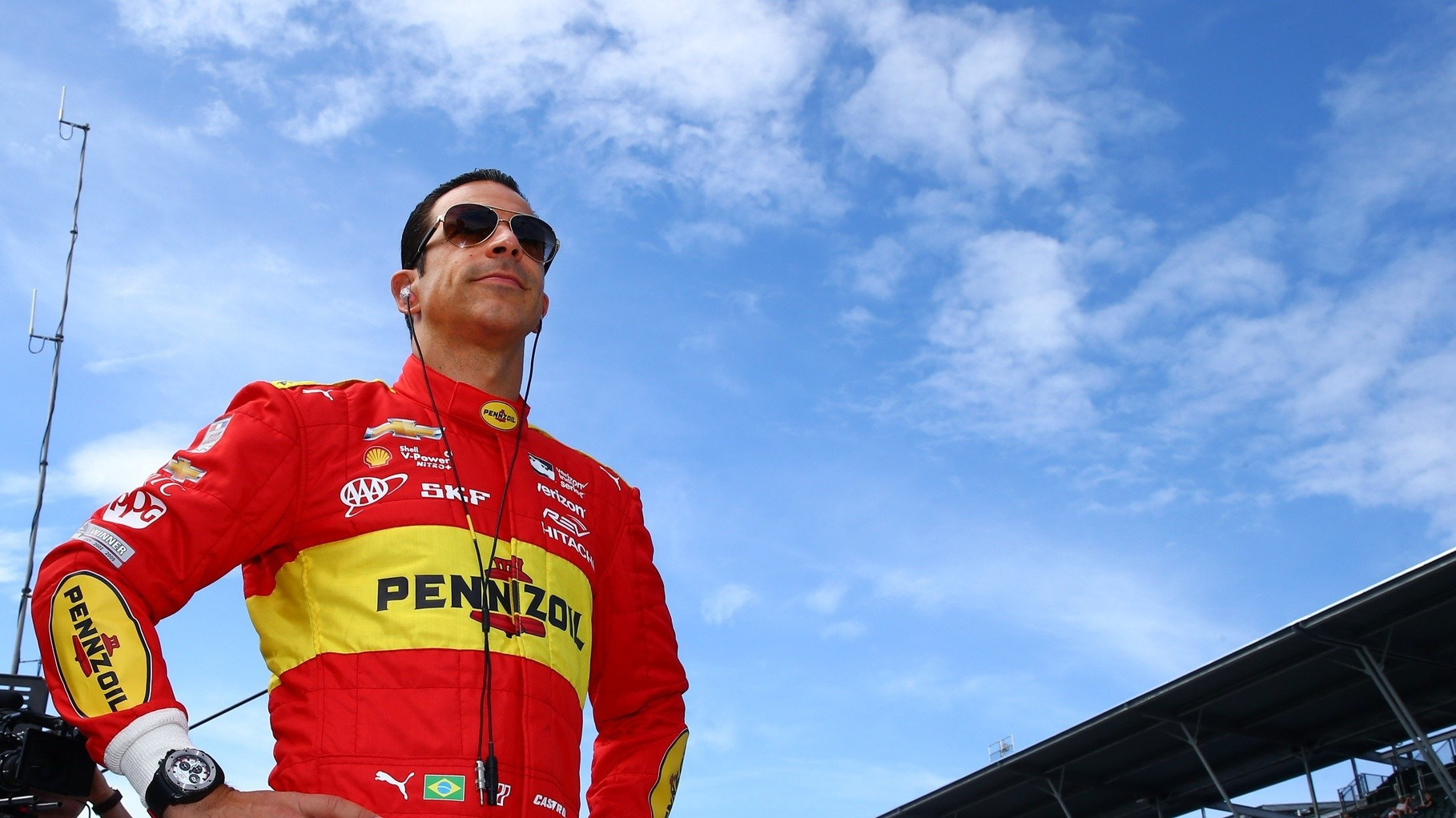Helio Castroneves Is Young at Heart, Hungry for More Glory
