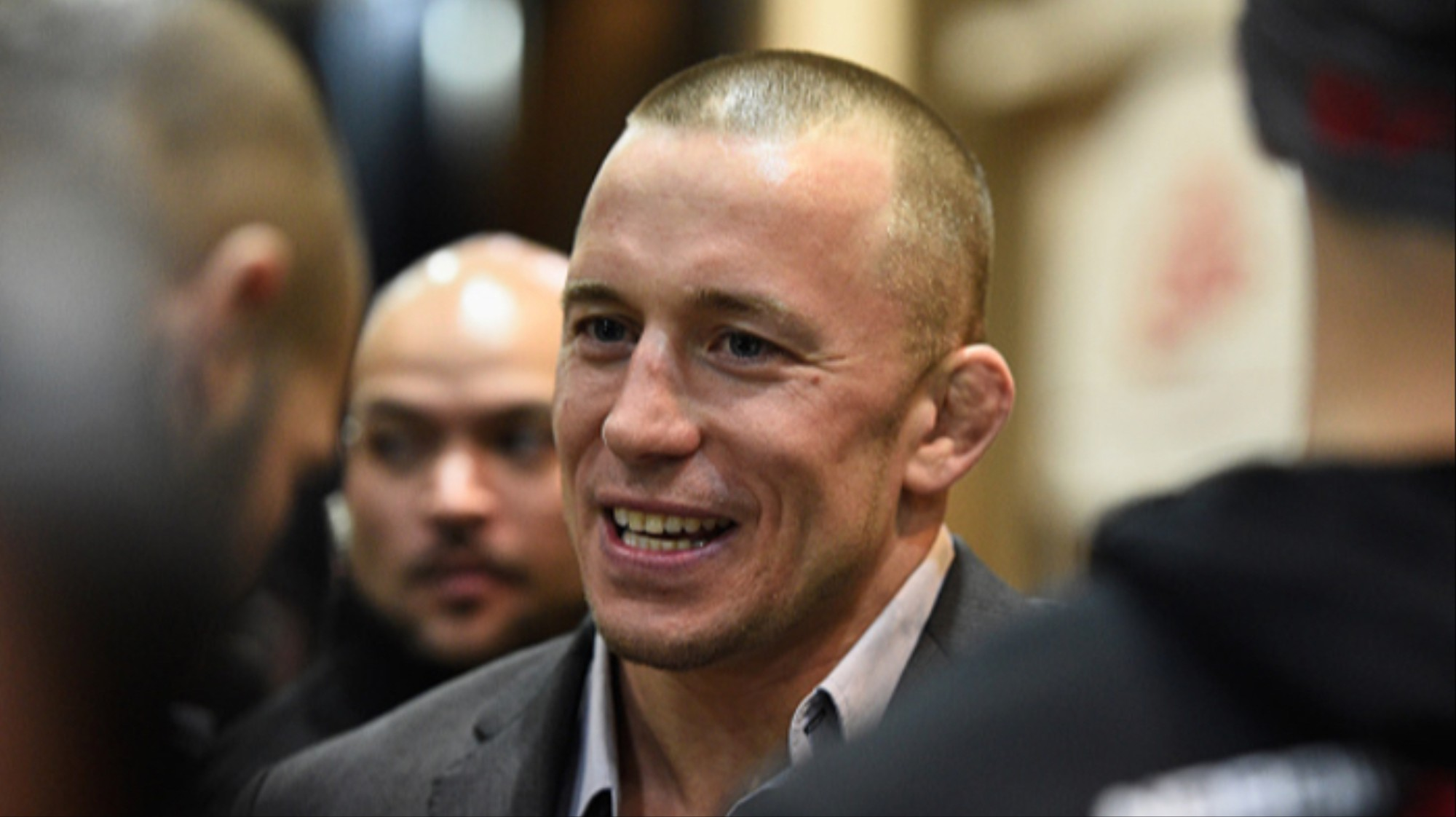 Hopefully Georges St-Pierre's Return Won't Involve a Courtroom - VICE