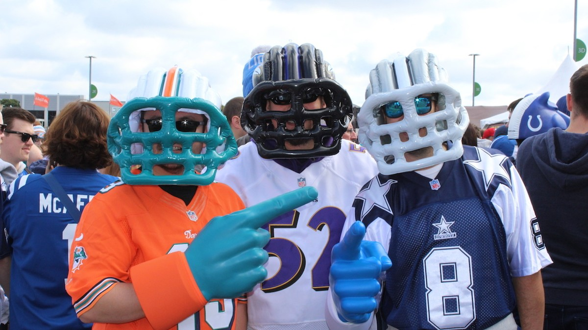 Image result for american football fans