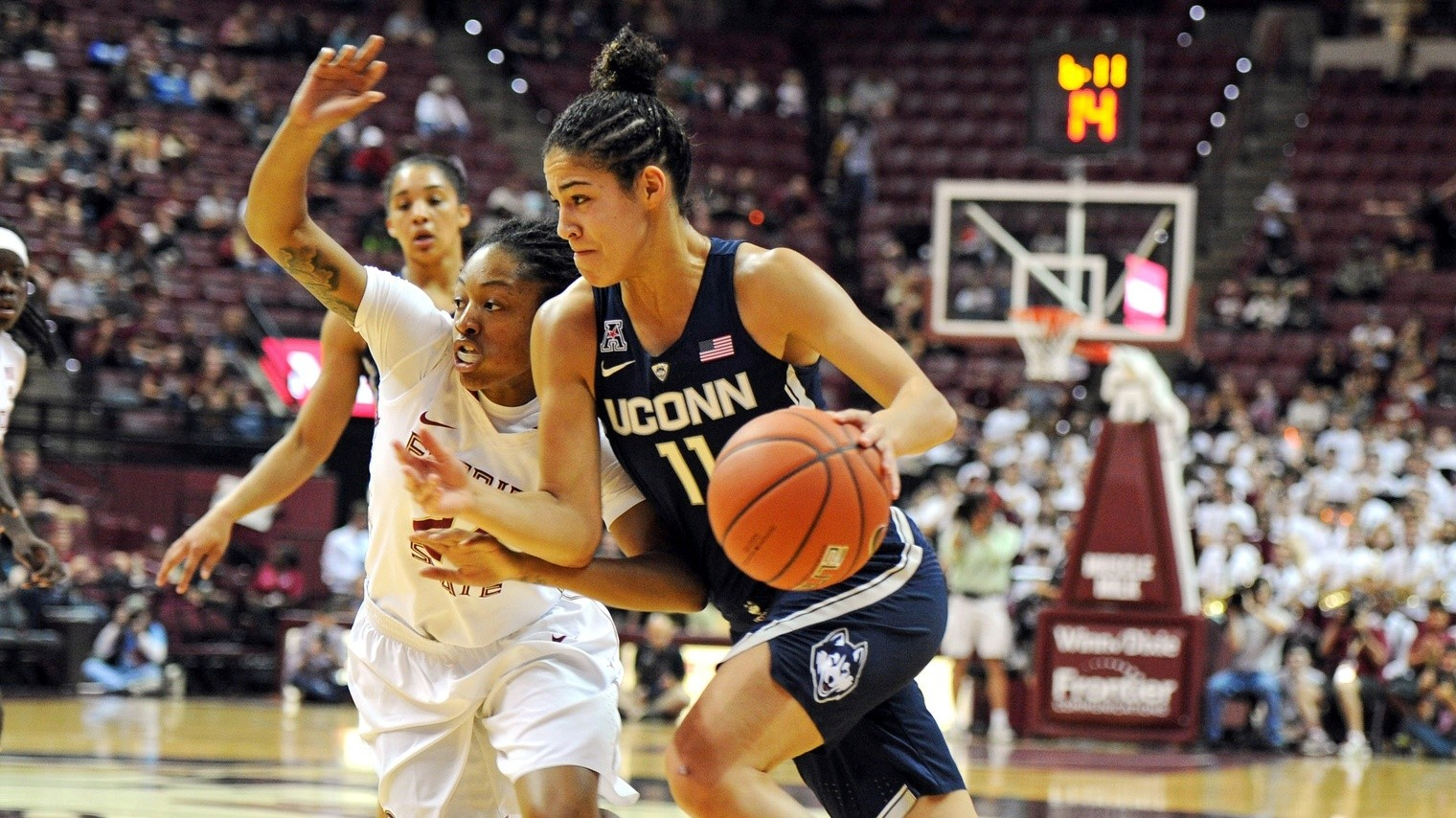 The UConn Huskies Get a Reality Check