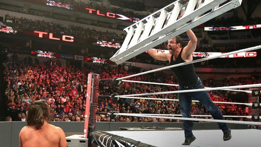 Feuding Brings Out the Best in A.J. Styles and Dean Ambrose