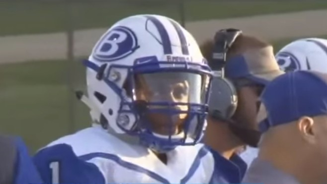 What Happened When a Black High School Football Player Knelt During the National Anthem